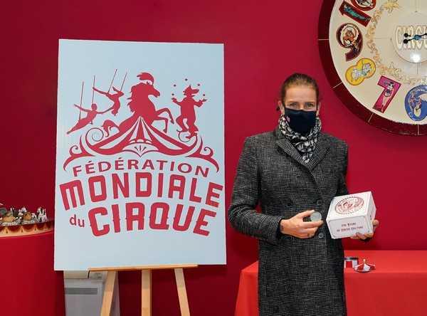 La Presidente onoraria Principessa Stephanie de Monaco