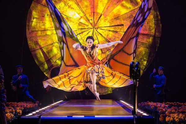 Aspettando Luzia del Cirque du Soleil su Sky Uno