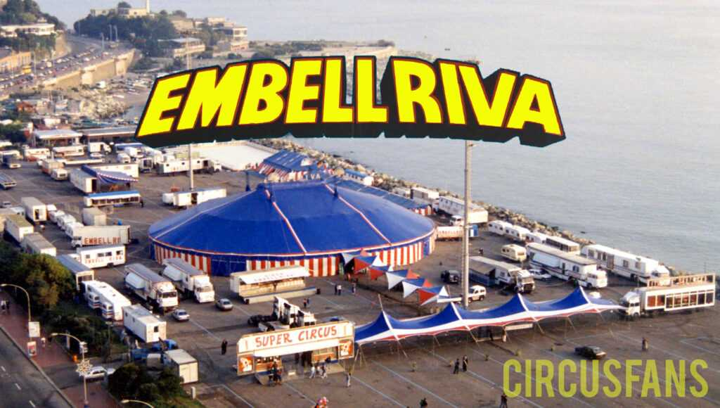 CIRCO EMBELL RIVA A GENOVA (1989): Lo spettacolo integrale in streaming