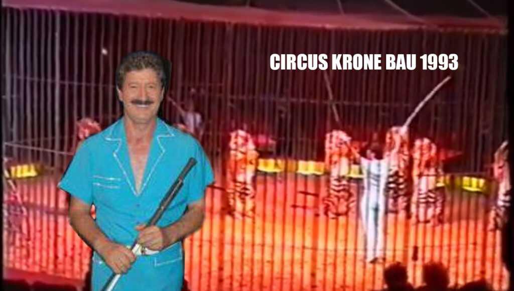 LE TIGRI DI ETTORE WEBER AL CIRCUS KRONE-BAU (Marzo 1993): Il Video