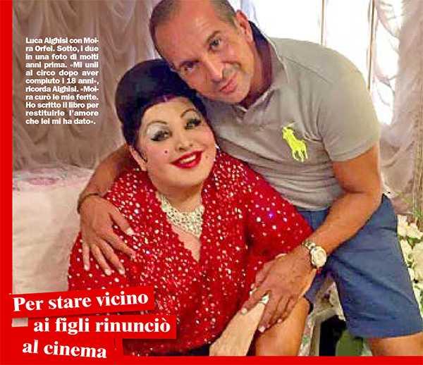 """Luca Alghisi: """"Vi racconto la vera Moira Orfei"""""""