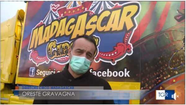 TGR: ASCOLI AIUTA IL CIRCO MADAGASCAR: Il Video