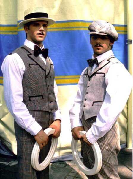CURATOLA BROTHERS - WORLD CIRCUS ARTIST