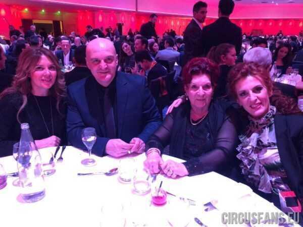 AUGURI ANITA ORFEI GRANDE DONNA DEL CIRCO ITALIANO