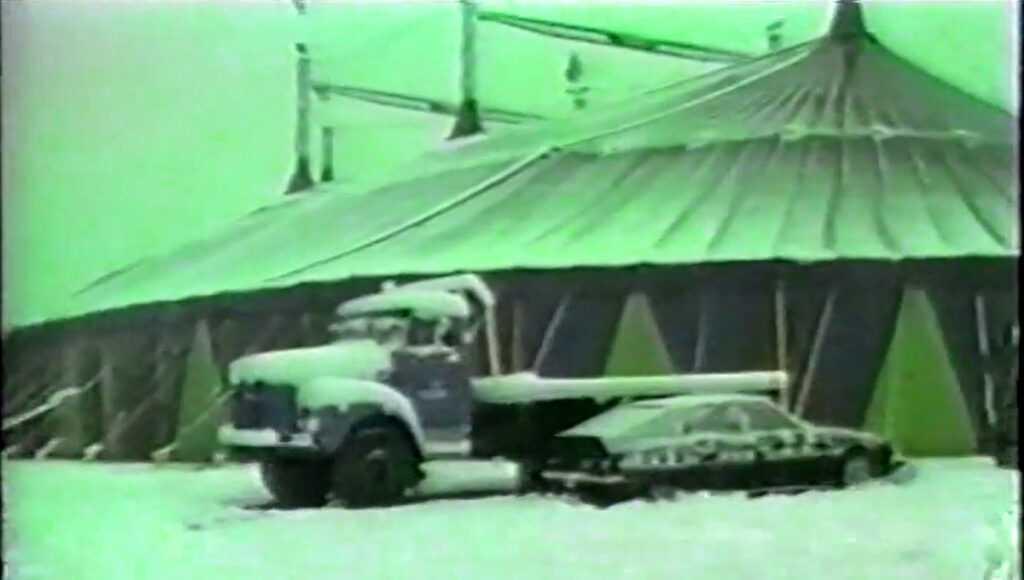IL CIRCO CESARE TOGNI SOTTO LA NEVICATA DEL 1985 A MILANO: Il Video