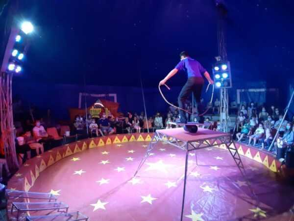 Circo Grioni: show in streaming il 30/01/21