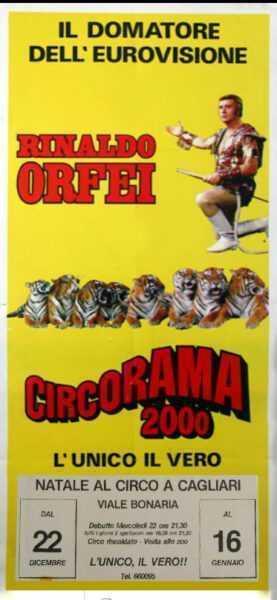 LE TIGRI DI RINALDO ORFEI AL CIRCORAMA 2000
