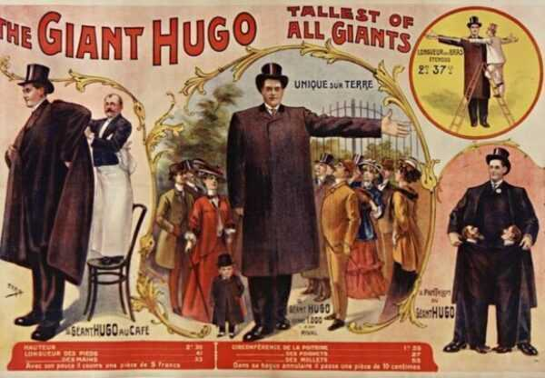 Hugo il gigante italiano a New York
