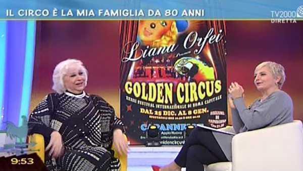 STASERA LIANA ORFEI SU TV2000