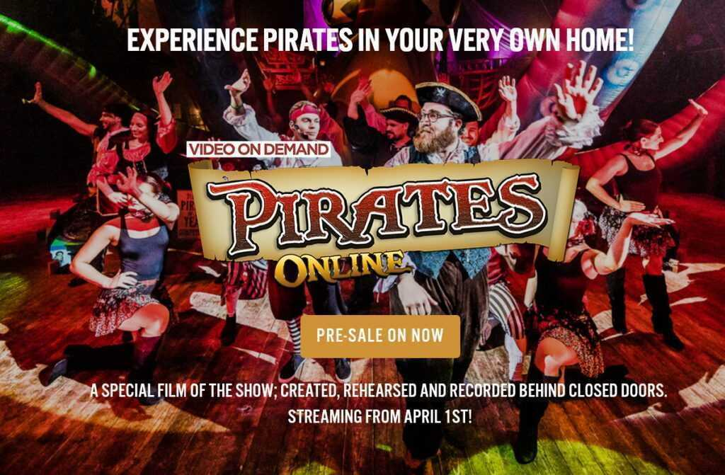 """GREAT YARMOUTH HIPPODROME – LO SHOW """"PIRATES"""" ON-LINE"""