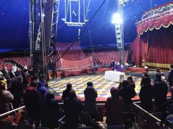 La quaresima dei frati a sostegno del Circo Orfei