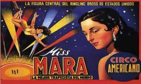 MISS MARA - WORLD CIRCUS ARTIST