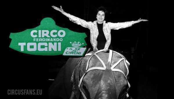 MINA AL CIRCO FERDINANDO TOGNI (1959): Il Video