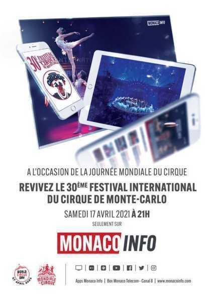 MONTE-CARLO FESTEGGIA IL WORLD CIRCUS DAY