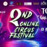 """2° ONLINE CIRCUS FESTIVAL – """"TOP 10 GALA SHOW"""" STREAMING"""