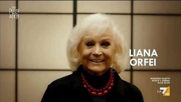 LIANA ORFEI SU LA7: Video