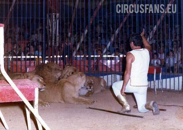 mario vulcanelli tra i suoi leoni 1982