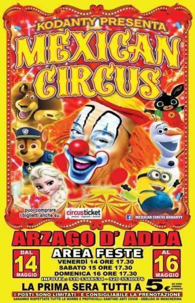 mexican circus kodanty 2021
