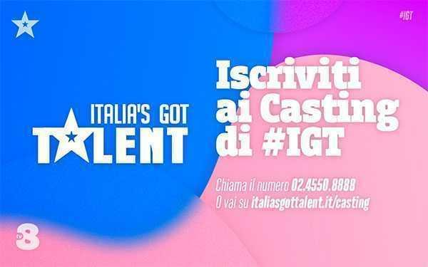 nuovi casting italia's got talent