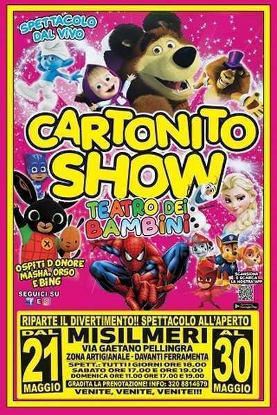 """I Medini con """"Cartonito Show"""" a Misilmeri"""