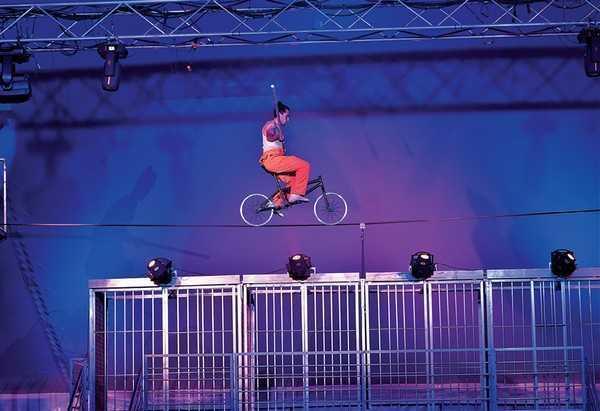 Cirque Italia si esibisce per Fort Myers