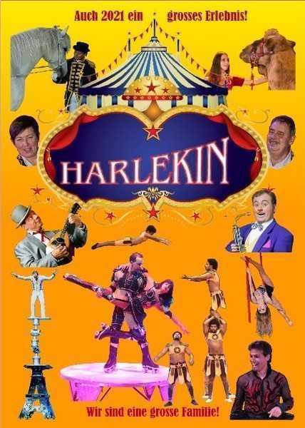 CIRCUS HARLEKIN: TOUR 2021