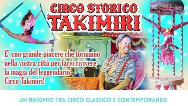 Spettacolo del Circo Takimiri a Sambucheto