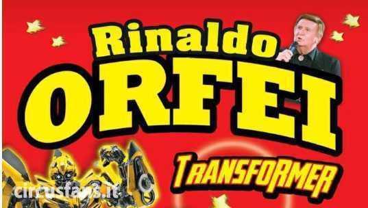 RIPARTE IL CIRCO RINALDO ORFEI