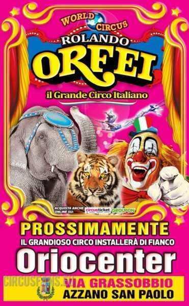 circo rolando orfei a bergamo (oriocenter)