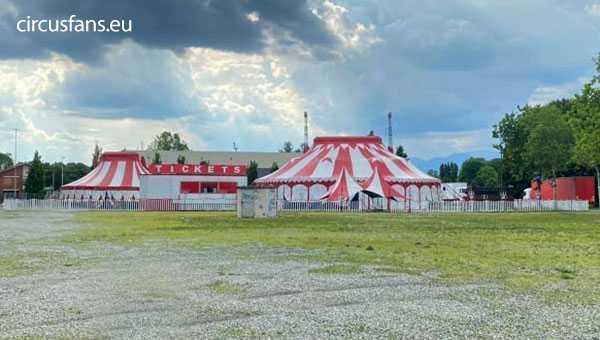 il circo peppino medini ospita un film di franco nero