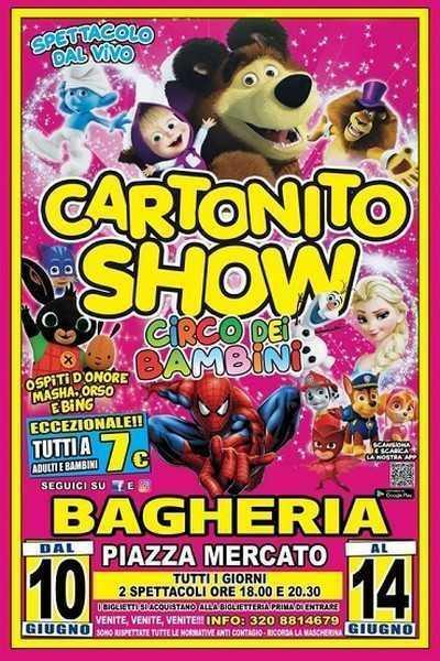 Cartonito Show di Happy Circus a Bagheria