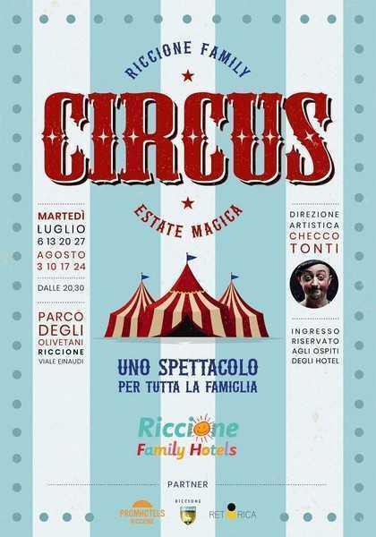 A Riccione un circo per famiglie