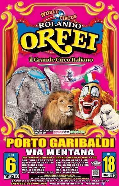 CIRCO ROLANDO ORFEI: NEWS