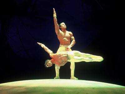 alexis brothers al cirque du soleil mystere
