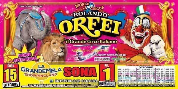 CIRCO ROLANDO ORFEI PROSSIMAMENTE A .....