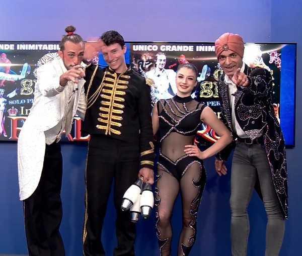"""L'Imperial Royal Circus ospite di """"Stai Con Me"""""""