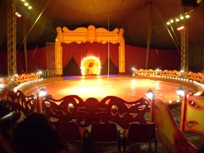 Interno Circo Armando Orfei 2004
