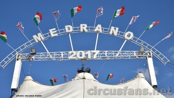 CIRCO MEDRANO (Casartelli): Le foto del montaggio a Salerno