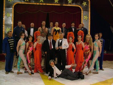 """La compagnia del circo """"Circo di Cesare Togni"""""""