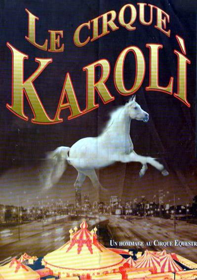 Manifesto del Cirque Karolì