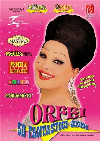 Copertina del 1° numero di Orfei Magazine