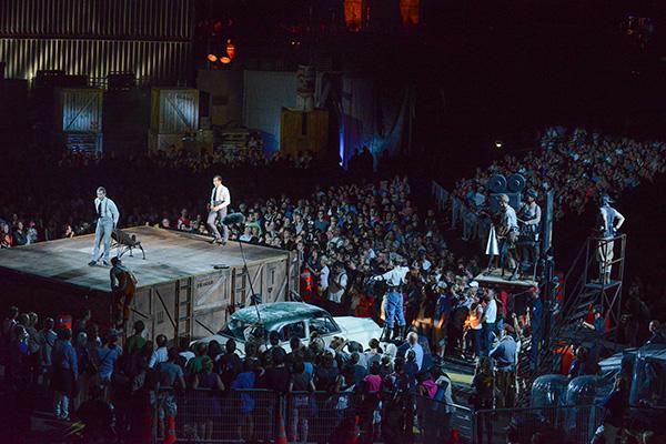 LO SHOW ESTIVO DEL SOLEIL A QUEBEC CITY CON I BELLO