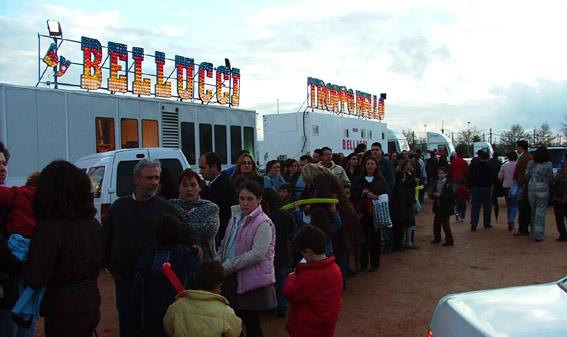 CIRCO BELLUCCI IN SPAGNA: Programma e foto
