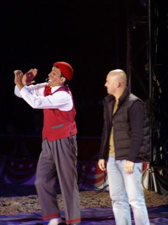 Davide Gallingani al Circo Americano