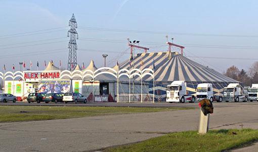 Esterno del Cirque de l'Eau a Bologna (Foto S. Bracchi)
