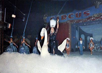 Moira al Circus on Ice