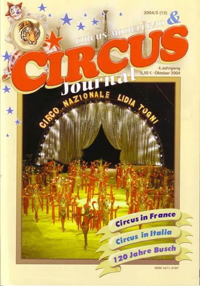 La copertina di Circus Journal