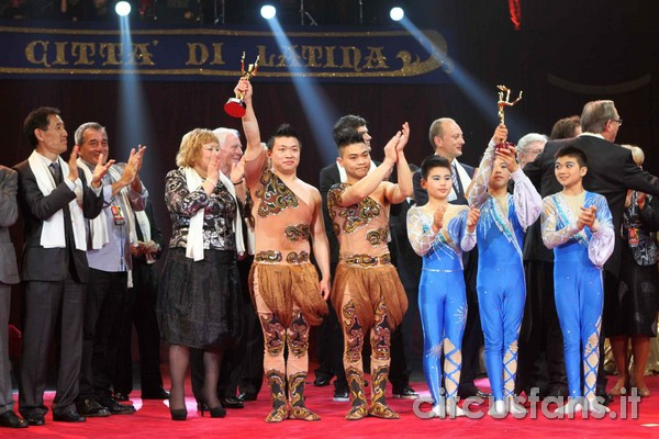 LATINA 2012: Il Palmarés completo