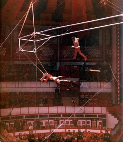 Franco Monti e Gino Jarz al Cirque d'Hiver Bouglione