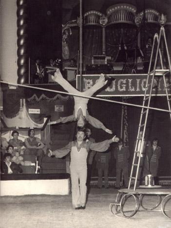 Franco e Marco Monti al Cirque d'Hiver